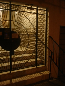 Gated stairway